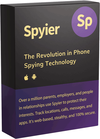Spyier: The Revolution in Phone Spying Technology. Over a million parents, employers, and people in relationships use Spyier to protect their interests. Track locations, calls, messages, and apps. Spyier is web-based, stealthy, and 100% secure.